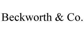 BECKWORTH & CO.
