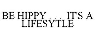 BE HIPPY . . . IT'S A LIFESYTLE recognize phone