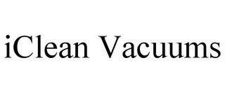 ICLEAN VACUUMS