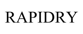 RAPIDRY