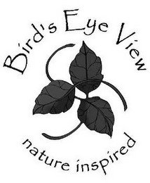 BIRD'S EYE VIEW NATURE INSPIRED