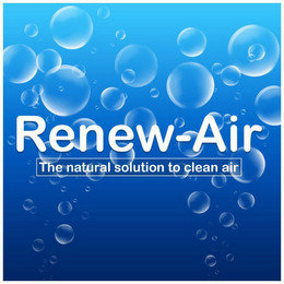 RENEW-AIR THE NATURAL SOLUTION TO CLEANAIR