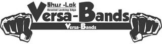 SHUR - LOK BEVELED LOCKING EDGE VERSA -BANDS VERSA-BANDS