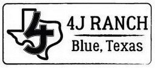 4J RANCH BLUE, TEXAS